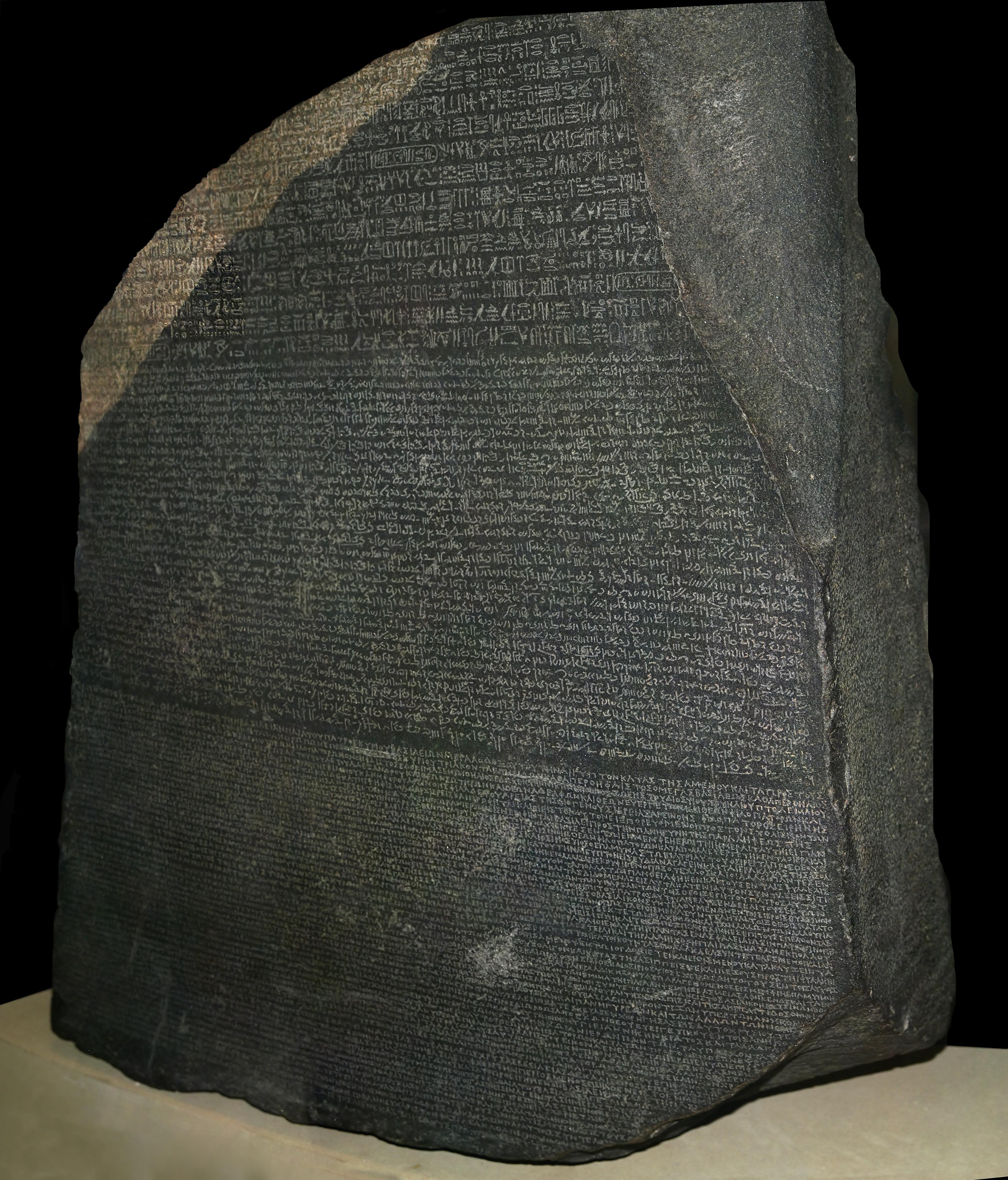 De steen van Rosetta. Een steen met meerdere verhalen