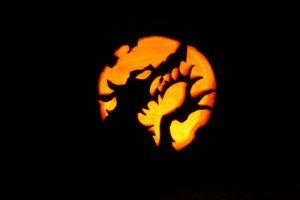 Halloween pompoen snijden inspiratie